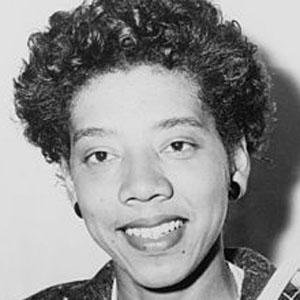 Female Tennis Player Althea Gibson - age: 76