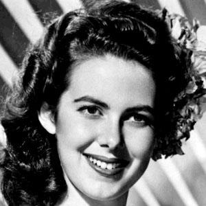 Movie actress Vanessa Brown - age: 71