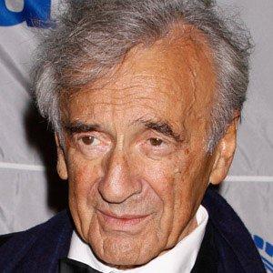 Activist Elie Wiesel - age: 92