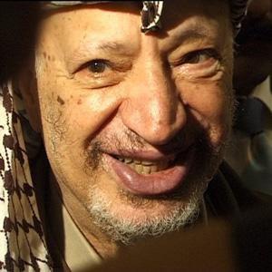 World Leader Yasser Arafat - age: 75