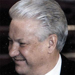 World Leader Boris Yeltsin - age: 76