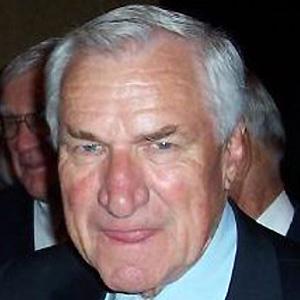 Coach Dean Smith - age: 83