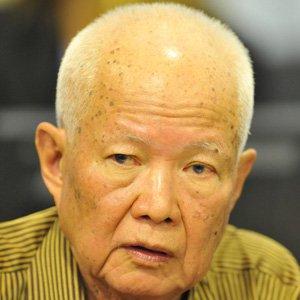 Politician Khieu Samphan - age: 89