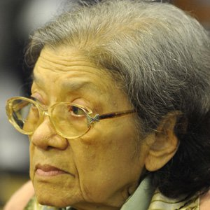 Political Wife Ieng Thirith - age: 85