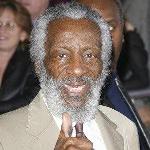 Comedian Dick Gregory - age: 85