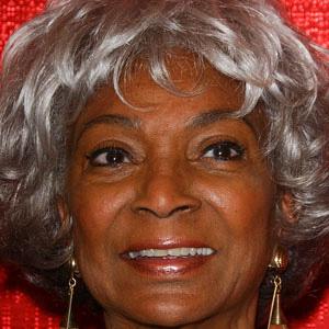 TV Actress Nichelle Nichols - age: 88
