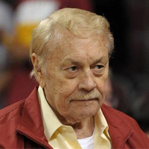 Entrepreneur Jerry Buss - age: 80
