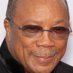 Composer Quincy Jones - age: 84