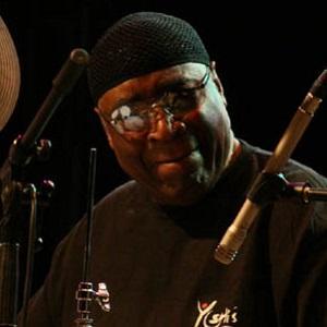 Drummer Robert Patterson - age: 76