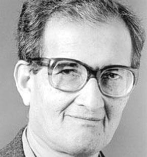 Philosopher Amartya Sen - age: 83