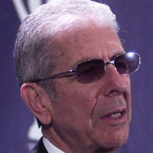 Folk Singer Leonard Cohen - age: 86