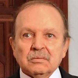 Politician Abdelaziz Bouteflika - age: 83