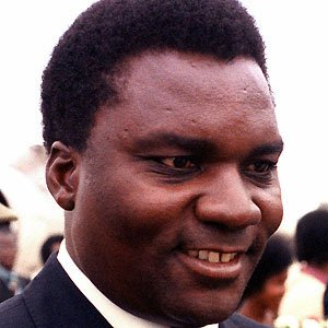 Politician Juvenal Habyarimana - age: 57