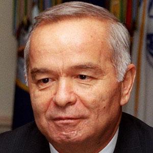 Politician Islam Karimov - age: 82