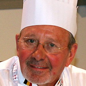 Chef Pierre Wynants - age: 81