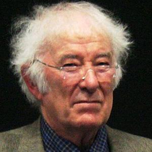 Novelist Seamus Heaney - age: 74