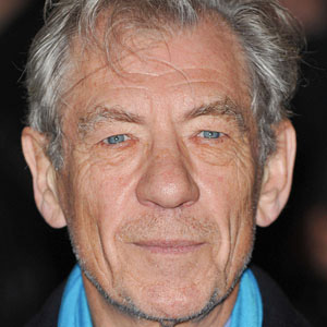 Movie Actor Ian McKellen - age: 81