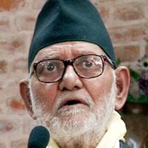 World Leader Sushil Koirala - age: 81