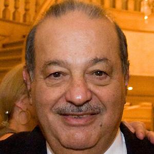 Entrepreneur Carlos Slim - age: 80