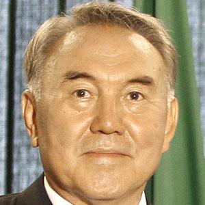 Politician Nursultan Nazarbayev - age: 76