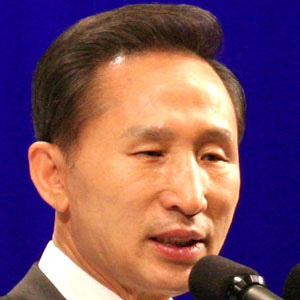World Leader Lee Myung-Bak - age: 75