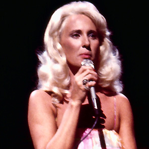 Country Singer Tammy Wynette - age: 55