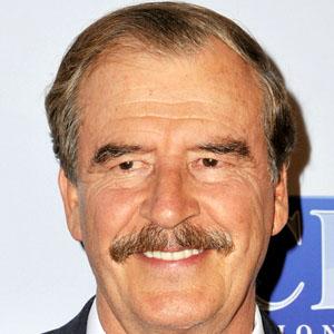 World Leader Vicente Fox - age: 74