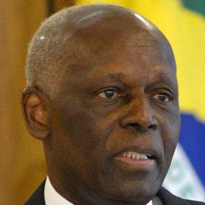 World Leader Jose Eduardo dos Santos - age: 78