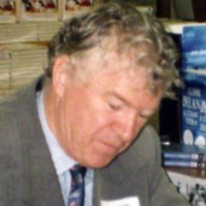 Novelist Frank Delaney - age: 74