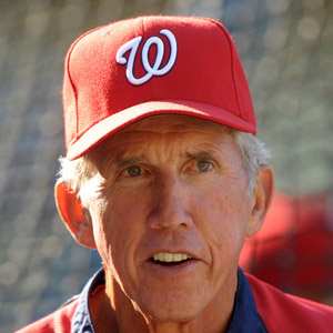 Coach Davey Johnson - age: 77