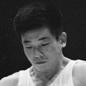 Gymnast Akinori Nakayama - age: 77