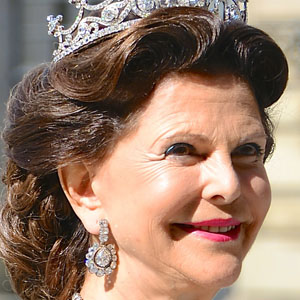 Royalty Queen Silvia of Sweden - age: 73