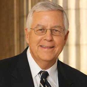 Politician Mike Enzi - age: 76