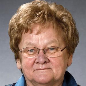 Politician Ene Ergma - age: 76