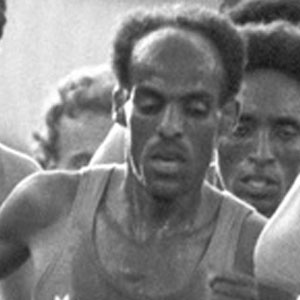 Runner Miruts Yifter - age: 76