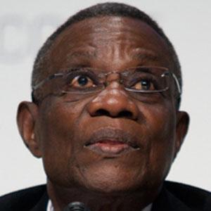 Politician John Atta Mills - age: 68
