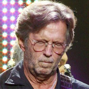 Guitarist Eric Clapton - age: 76