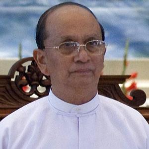 Politician Thein Sein - age: 75