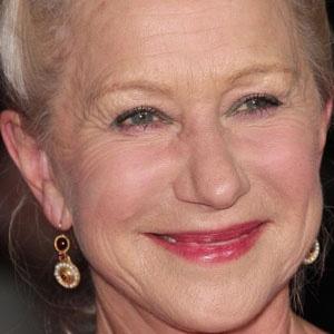 Movie actress Helen Mirren - age: 75