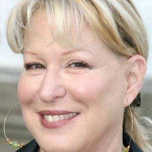 Pop Singer Bette Midler - age: 75