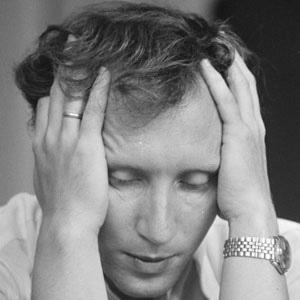 Chess Player Vladimir Tukmakov - age: 74