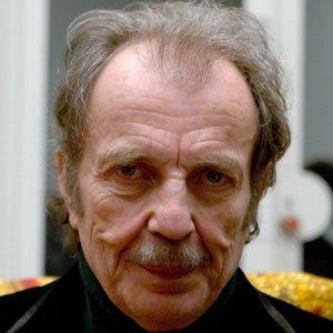 Sculptor Franz West - age: 65