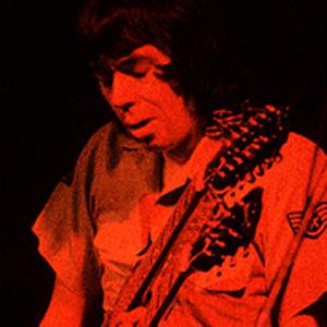 Guitarist Andrew Latimer - age: 73