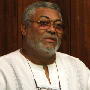 World Leader Jerry Rawlings - age: 73