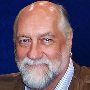 Drummer Mick Fleetwood - age: 70