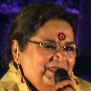 Pop Singer Usha Uthup - age: 69