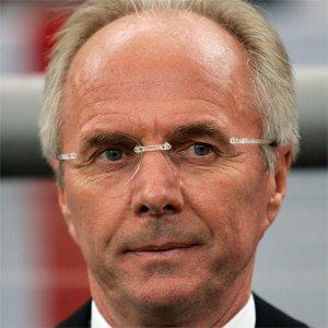 Coach Sven-goran Eriksson - age: 72