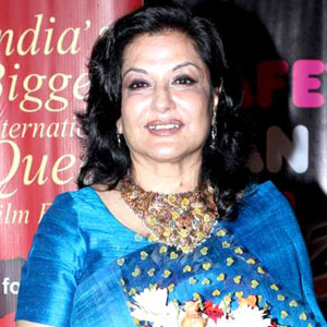 Movie actress Moushumi Chatterjee - age: 72