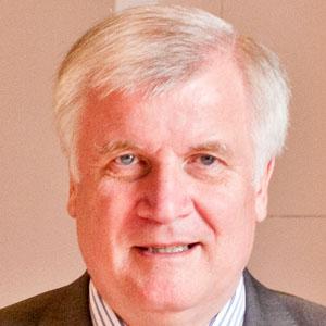 Politician Horst Seehofer - age: 67