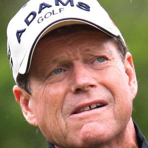 Golfer Tom Watson - age: 72